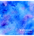 Abstract watercolor background with paper texture vector image vector image