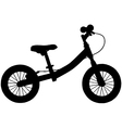 Balance bicycle vector image vector image