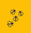 bees for web and print vector image