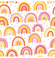 childish seamless pattern with colorful hand drawn vector image vector image