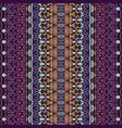 geometric ethnic seamless pattern ornamental vector image vector image