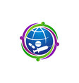 global medicine concern vector image