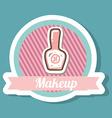 makeup design vector image