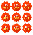 promotional offer as promotional discount drawing vector image