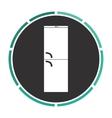 Refrigerator computer symbol vector image vector image