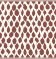 seamless pattern leaves on light background vector image
