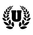 university emblem icon image vector image vector image