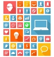 Web and Soft Icon set vector image