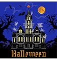 Haunted Castle at night vector image