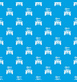 car and key pattern seamless blue vector image vector image