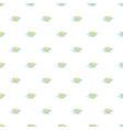 cloudy sun pattern seamless vector image