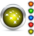 Constellation button vector image