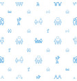 father icons pattern seamless white background vector image vector image
