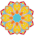 oriental flower pattern vector image vector image