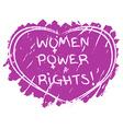 Women power symbol vector image