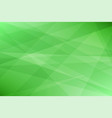 green geometric abstract background vector image vector image