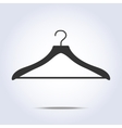 Hanger simple icon in vector image vector image