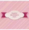 Happy Mothers Day realistic Banner Template vector image vector image