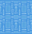 medical drugstore seamless pattern medicament vector image