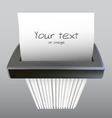 paper shredder illustration vector image