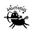 Sagittarius vector image