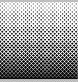 square halftone background vector image