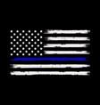 thin blue line american flag t shirt template
