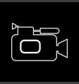 videocamera it is icon vector image vector image