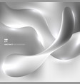 abstract 3d fluid twisted with lighting effect on vector image