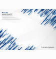 abstract of blue color stripe line technology vector image vector image