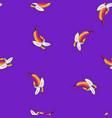 natural coloured bananas vibrant pattern vector image vector image
