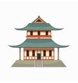 Pagoda icon cartoon style vector image vector image