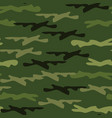 seamless camouflage pattern woodland style vector image