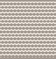 wavy rows seamless pattern vector image