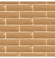 Wooden planks board seamless pattern vector image vector image