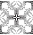 abstract retro style arabesque linear seamless vector image vector image