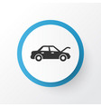 auto hood icon symbol premium quality isolated vector image