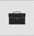 briefcase icon isolated on transparent background vector image vector image