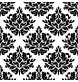 Classic damask floral seamless pattern vector image vector image