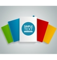 colorful book concept vector image vector image