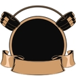 Design medals symbols vector image vector image