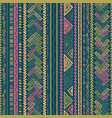 ethnic style seamless pattern vector image