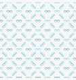 glasses blue seamless pattern vector image