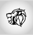 Lion head icon logo