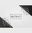 modern abstract geometric white background vector image vector image