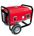 Portable generator vector image