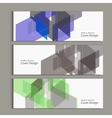 Abstract polygon design template for banner vector image vector image