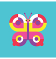 Butterfly Icon Insect vector image vector image