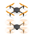 Drone Isometric View vector image