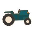 farm tractor icon vector image vector image